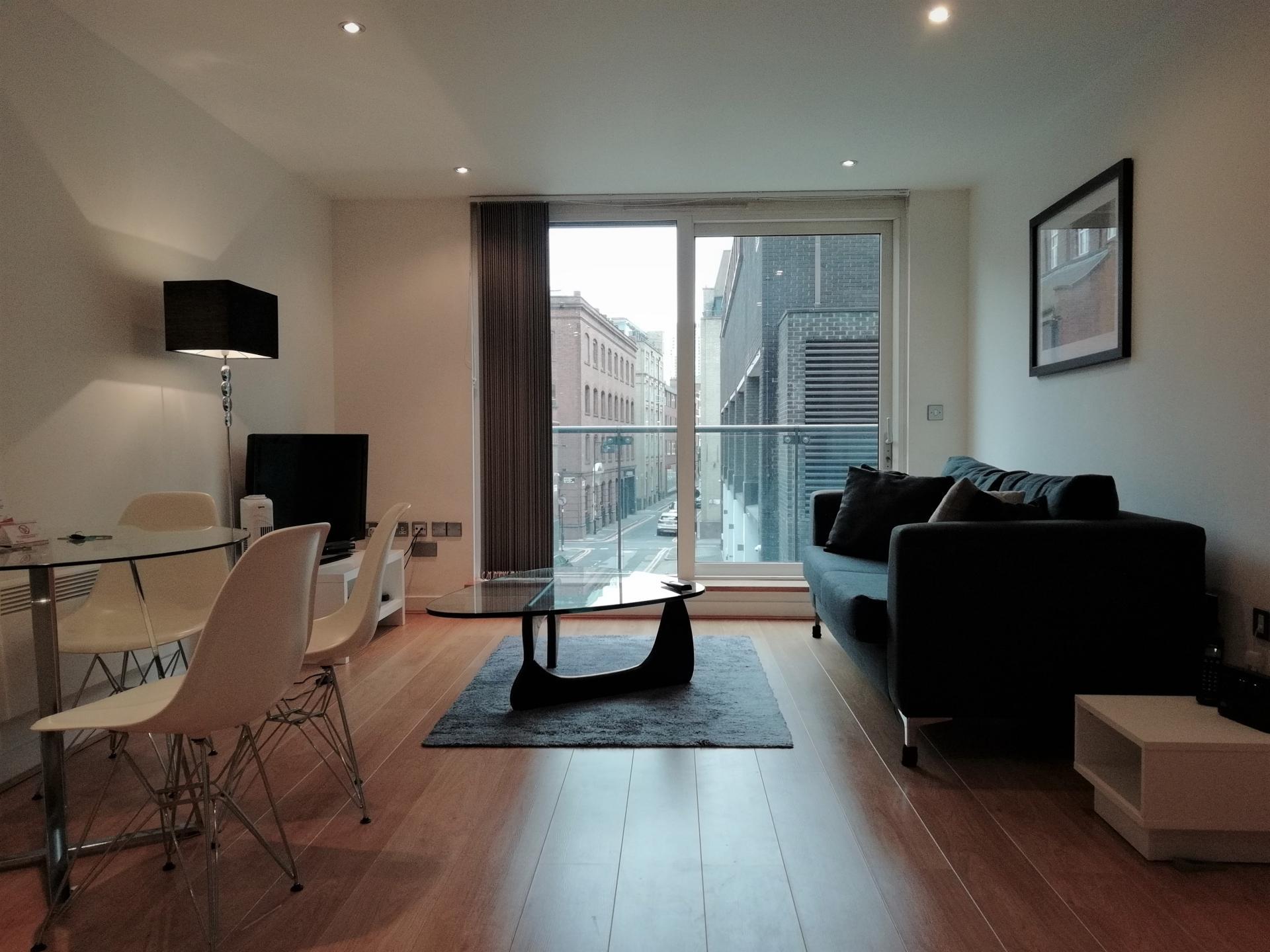 Lounge at Still Life Clerkenwell Executive, Clerkenwell, London - Citybase Apartments