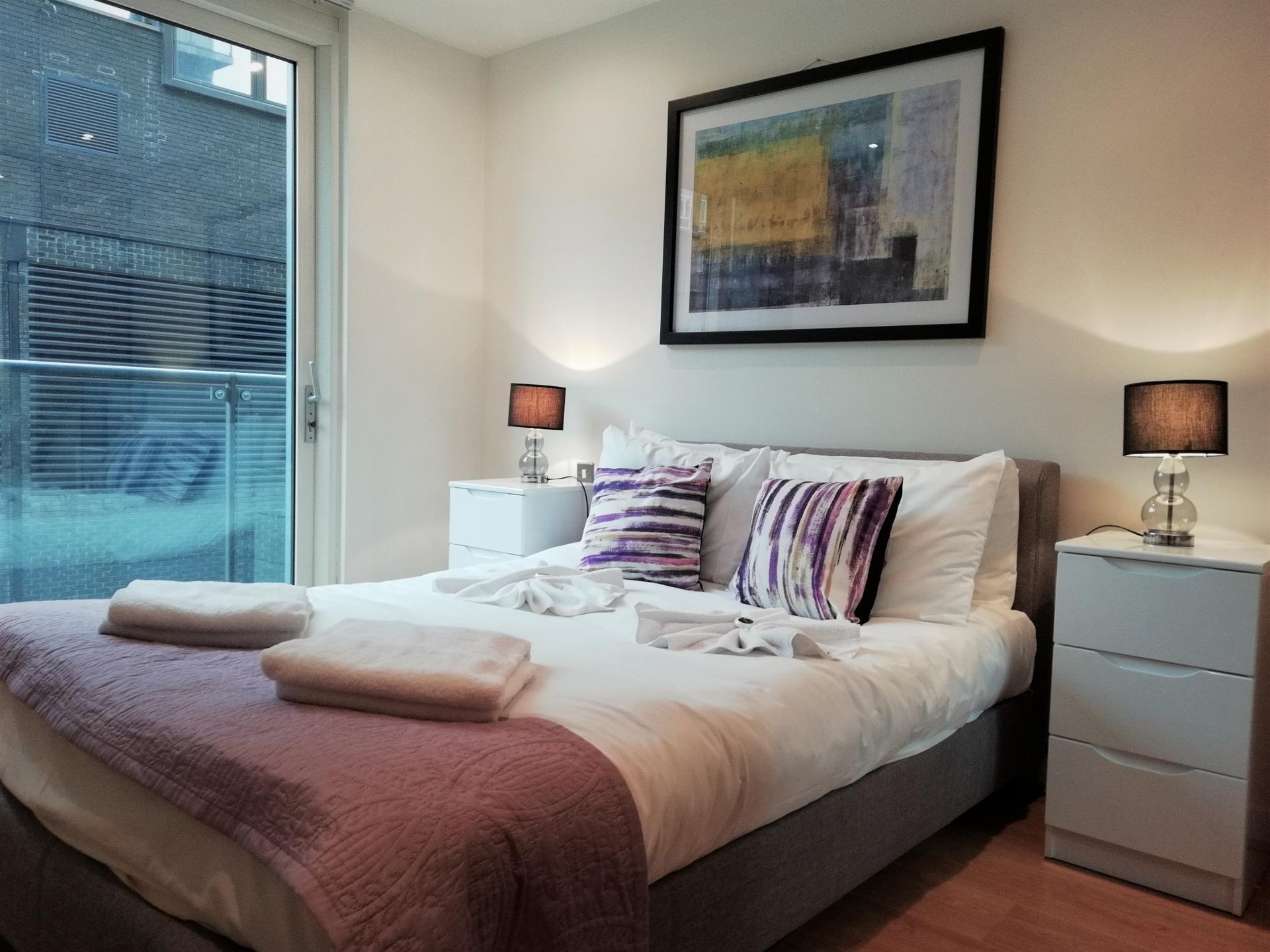 Bedroom at Still Life Clerkenwell Executive, Clerkenwell, London - Citybase Apartments