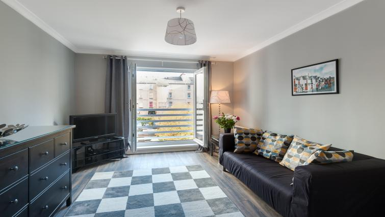 Living area at Brunswick Apartment - Citybase Apartments