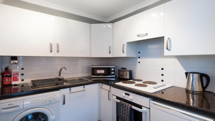 Kitchen at v - Citybase Apartments