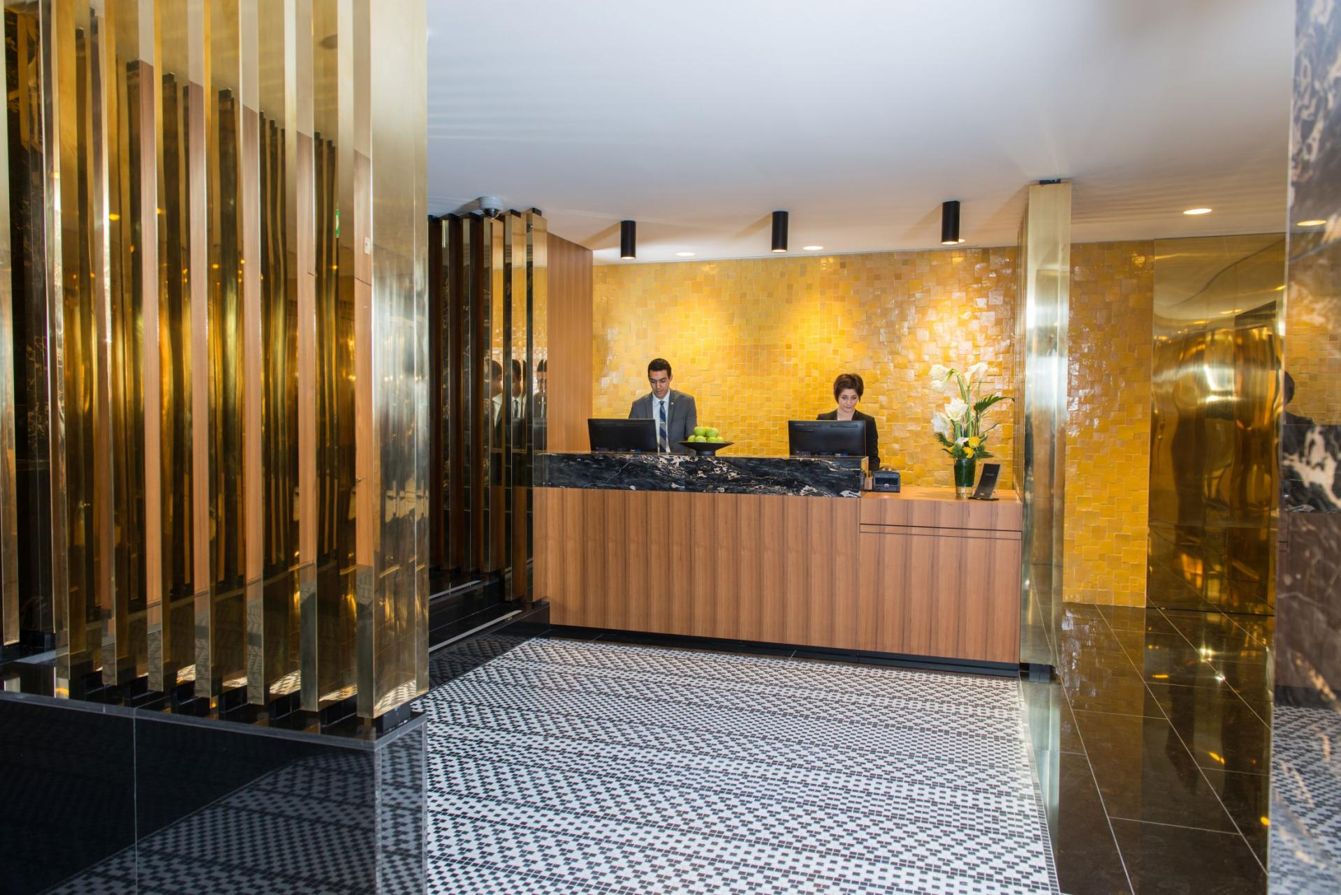 Front Desk at Fraser Suites Geneva, Centre, Geneva - Citybase Apartments