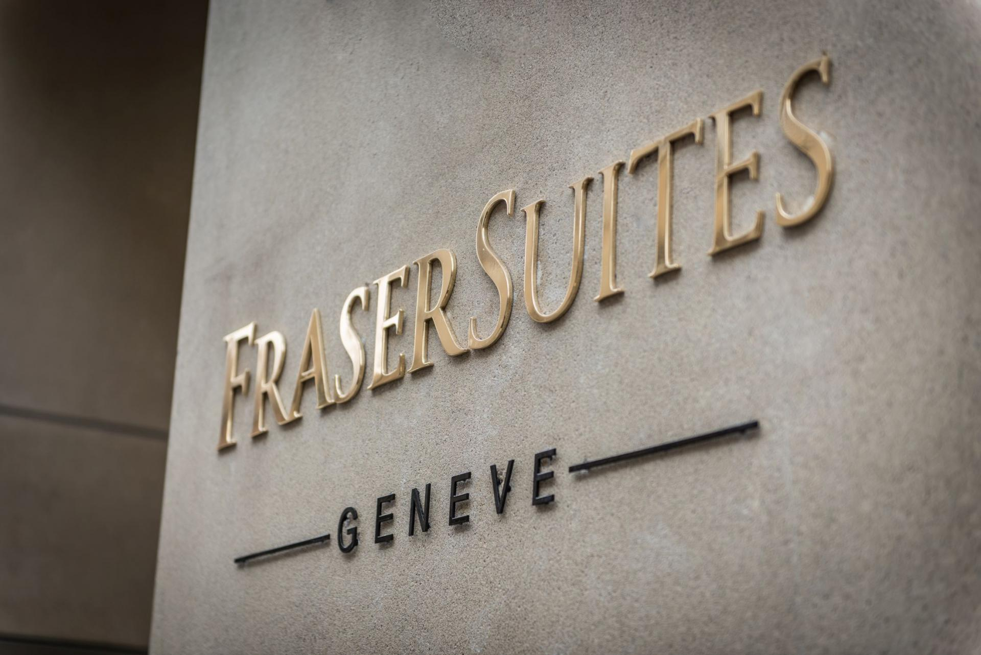 Entrance at Fraser Suites Geneva, Centre, Geneva - Citybase Apartments