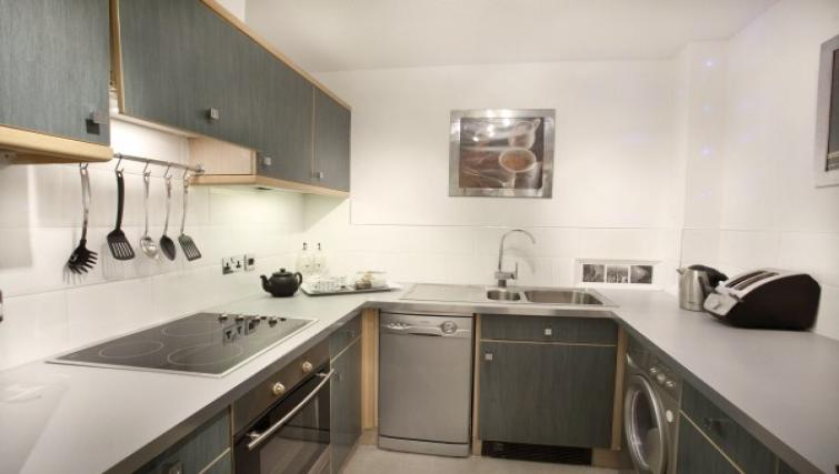 Kitchen at Monkbridge Court Apartment - Citybase Apartments