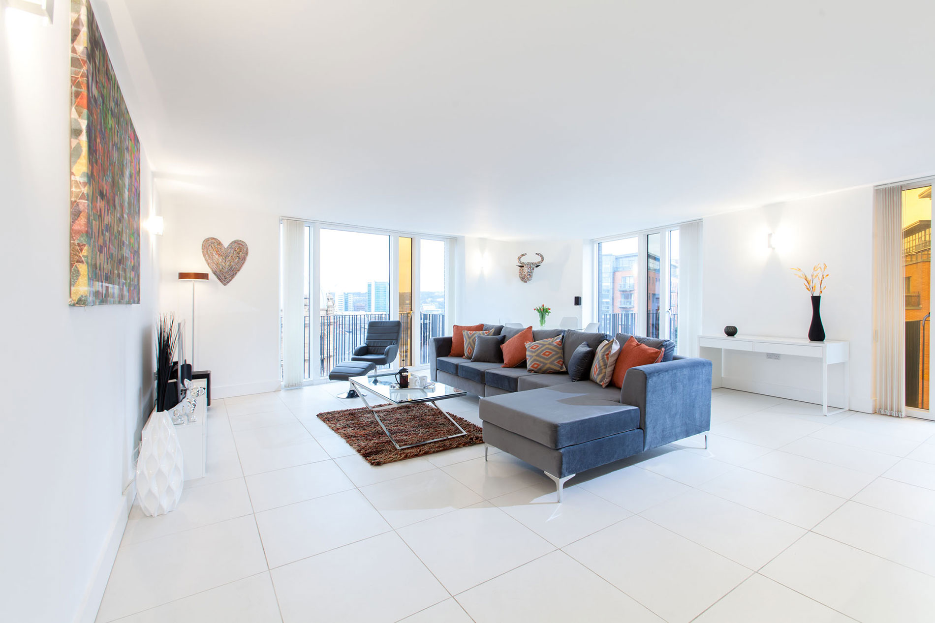 Spacious living are at Sinclair Apartments, Centre, Sheffield - Citybase Apartments