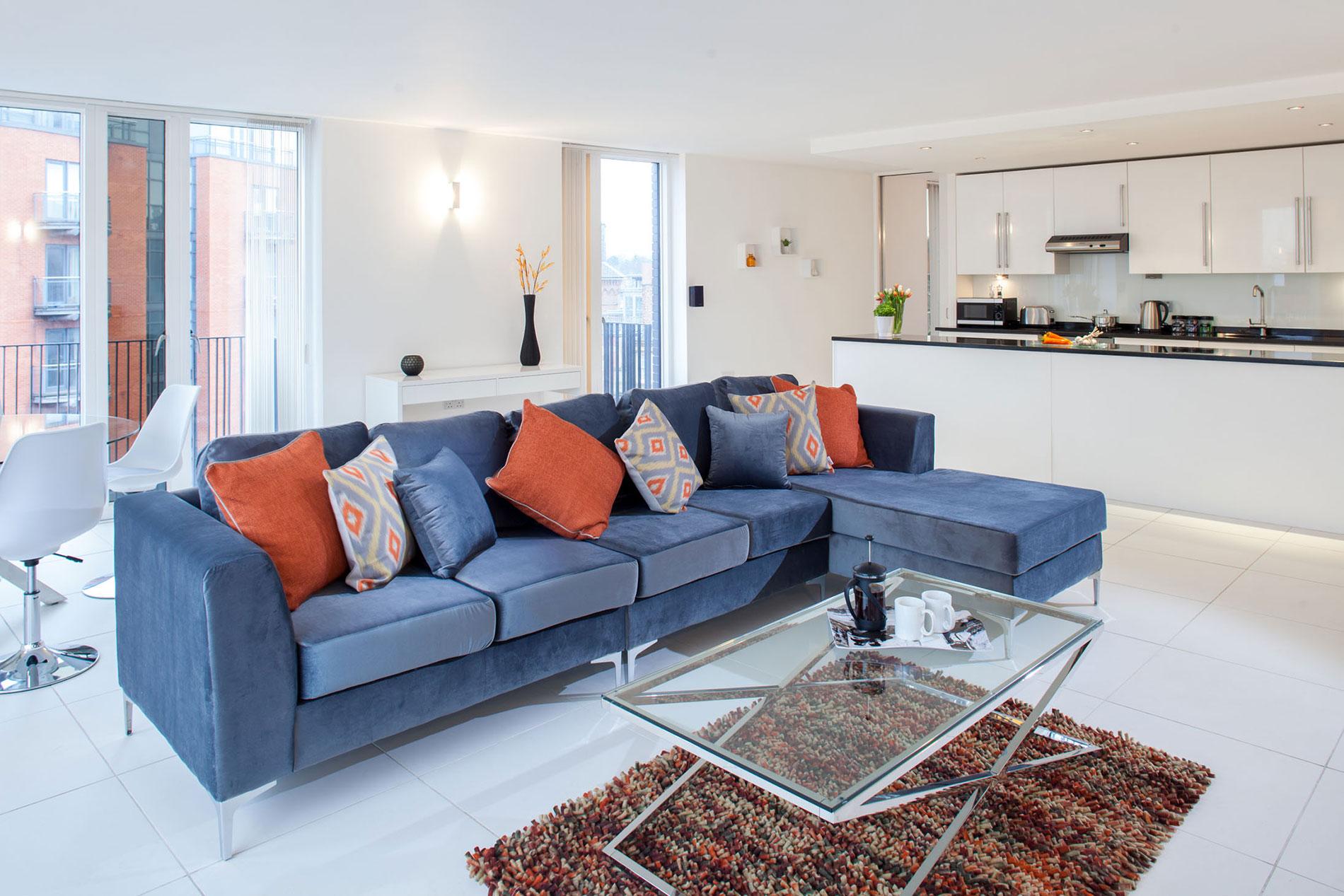 Cushions at Sinclair Apartments, Centre, Sheffield - Citybase Apartments