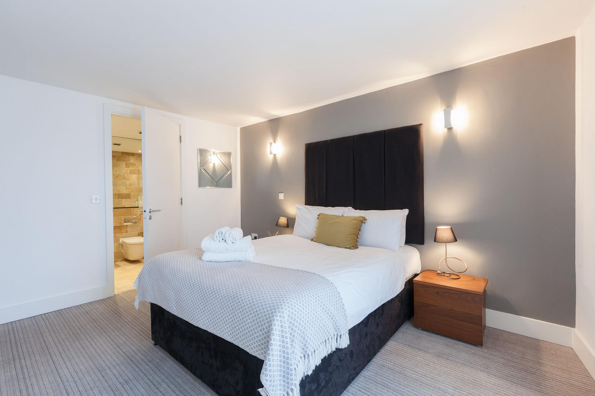 Master suites at Sinclair Apartments, Centre, Sheffield - Citybase Apartments