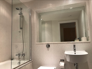 Shower at  Still Life Canary Wharf Executive - Citybase Apartments