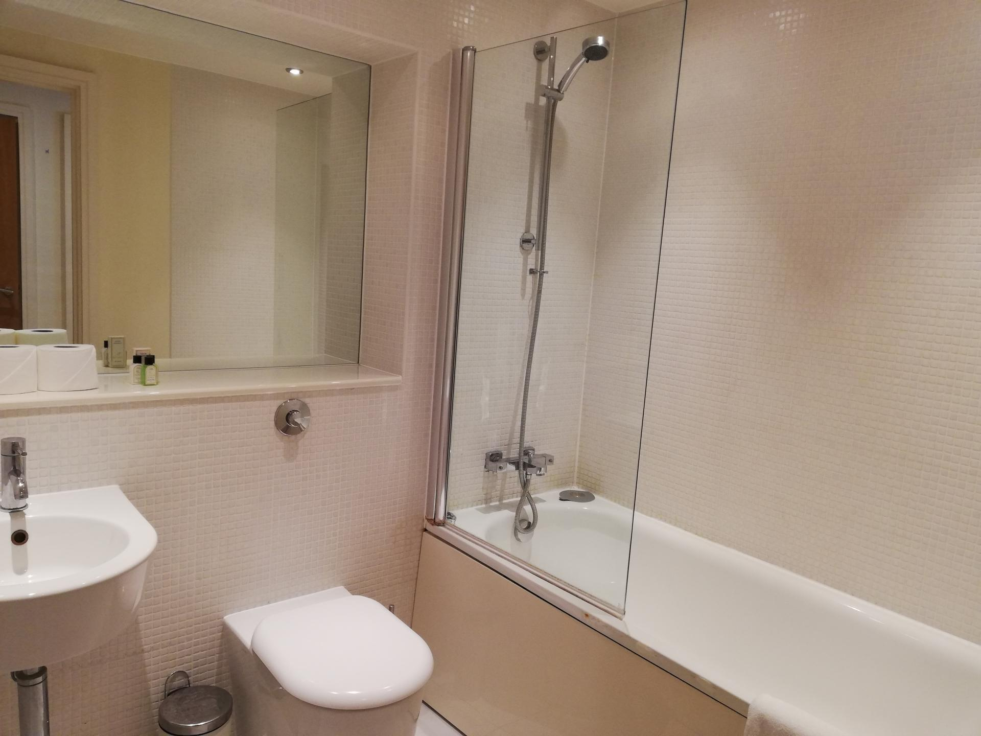 Shower at the Still Life Canary Wharf Executive - Citybase Apartments