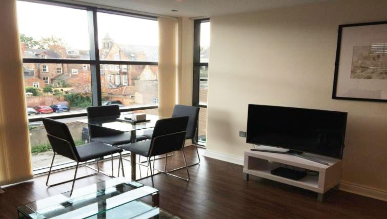 Dining area at Victor Street Apartment - Citybase Apartments