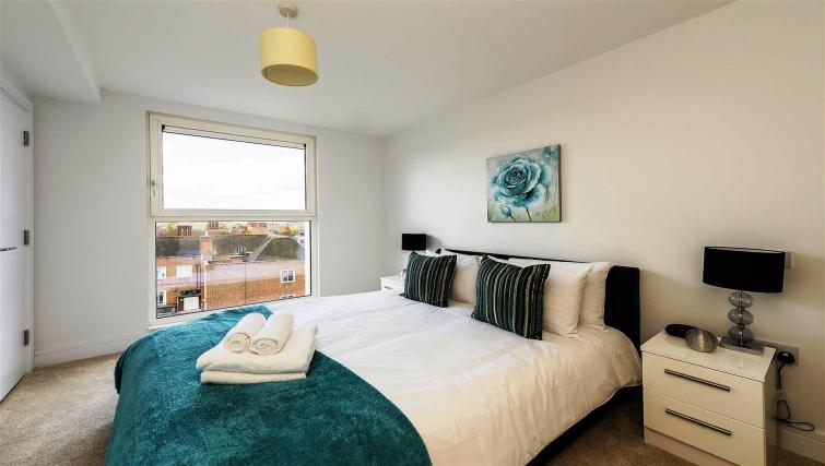 Bedroom at Flying Butler Gayton Road Apartments - Citybase Apartments