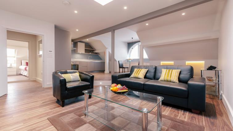 Living area at Friar House Apartments - Citybase Apartments
