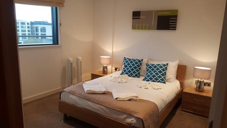 Bright bedroom at Still Life King's Cross - Citybase Apartments