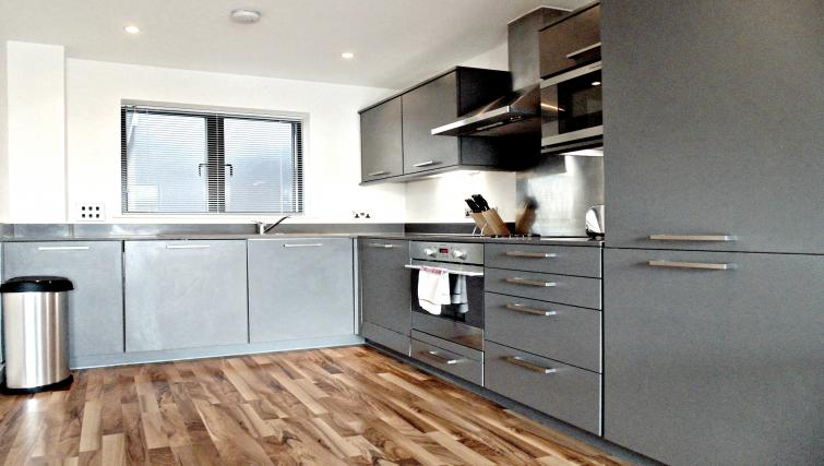 Equipped kitchen at Still Life King's Cross - Citybase Apartments