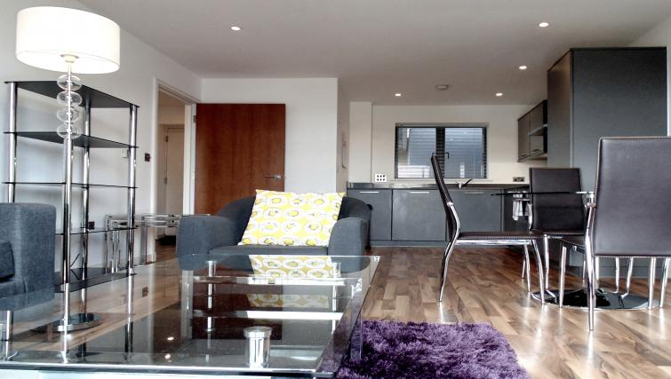 Living space at Still Life King's Cross - Citybase Apartments