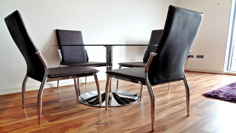Dining area at Still Life King's Cross - Citybase Apartments