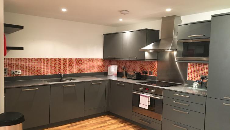 Kitchen facilities at Still Life King's Cross - Citybase Apartments