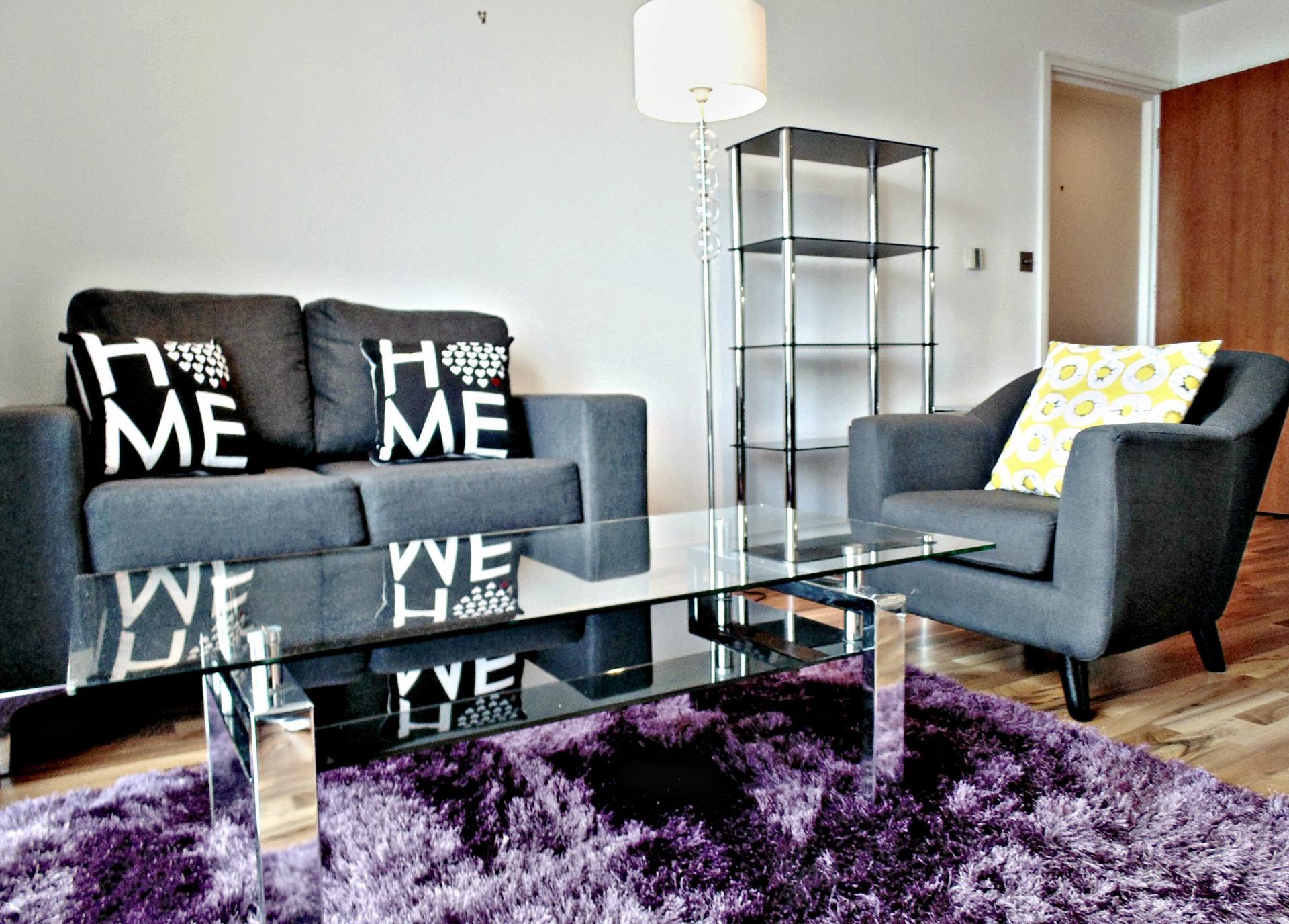 Sofa at Still Life King's Cross - Citybase Apartments