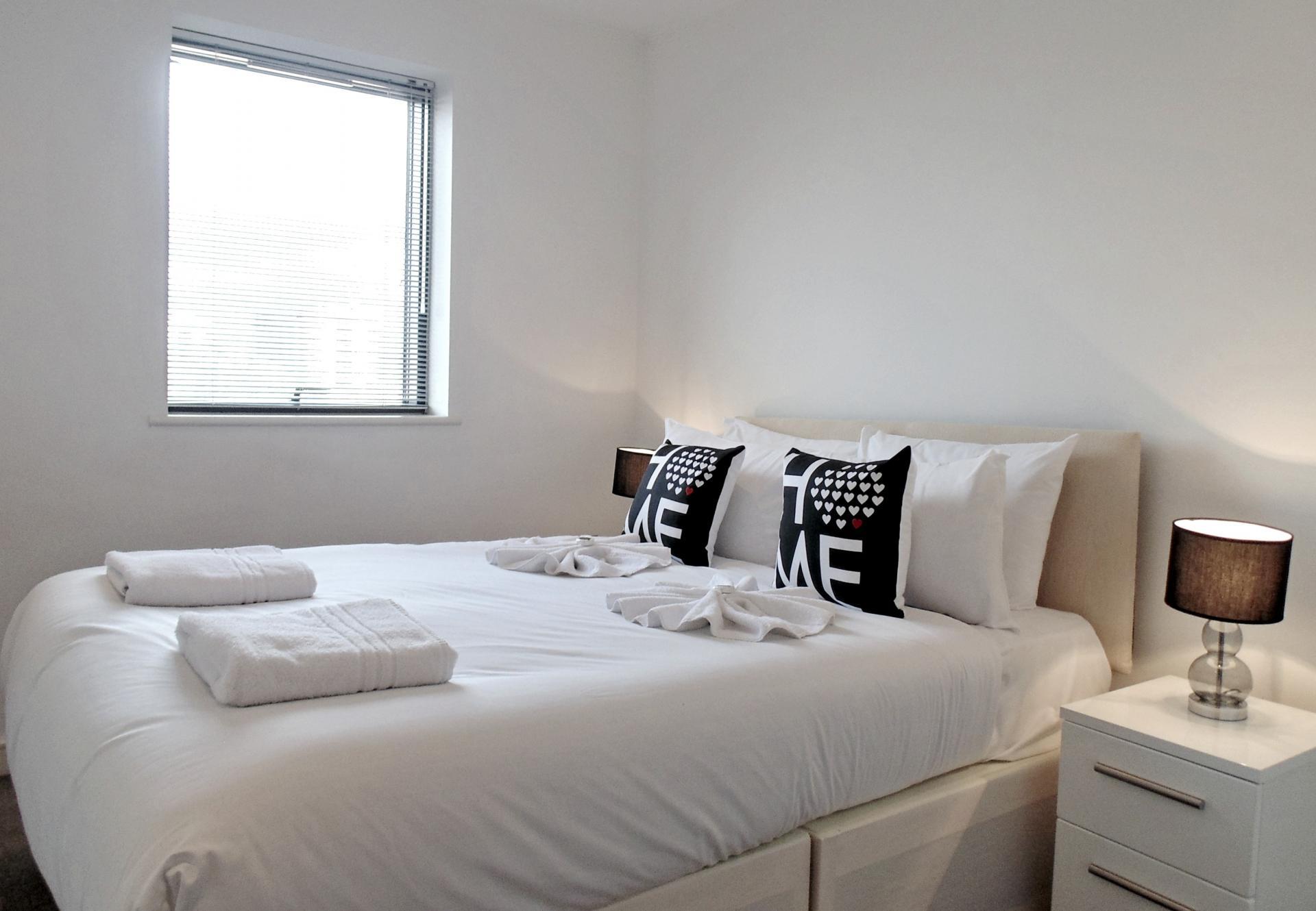 Bedroom at Still Life King's Cross - Citybase Apartments