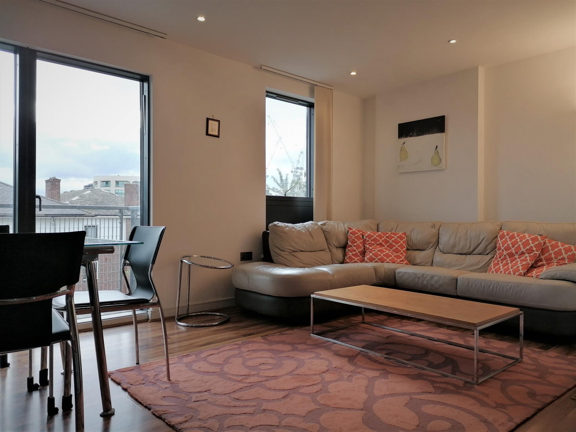 Comfortable lounge at Still Life King's Cross - Citybase Apartments