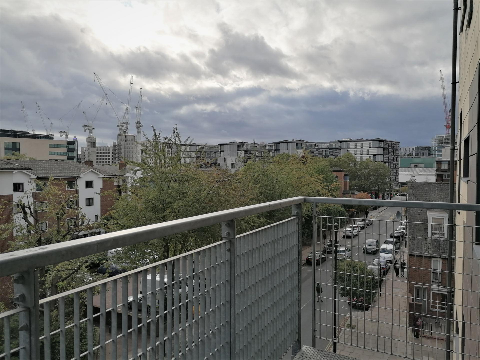 Balcony at Still Life King's Cross - Citybase Apartments