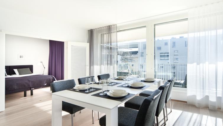 Dining area at Aallonkoti Hotel Apartments - Citybase Apartments