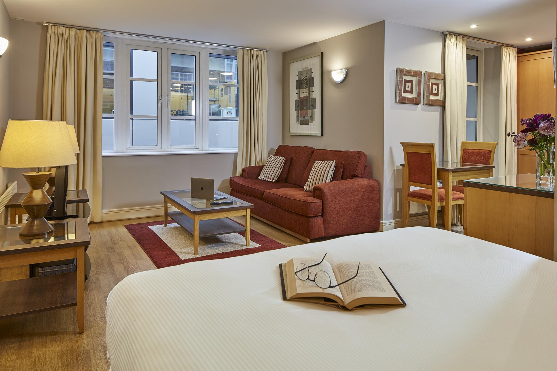 Studio at Queen Street St Paul's Apartments, Mansion House, London - Citybase Apartments