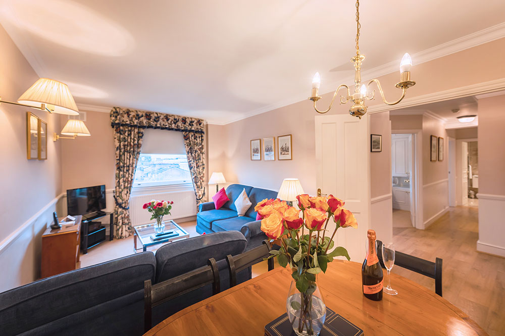 Open-plan at No.1 The Mansions Apartments, Earls Court, London - Citybase Apartments