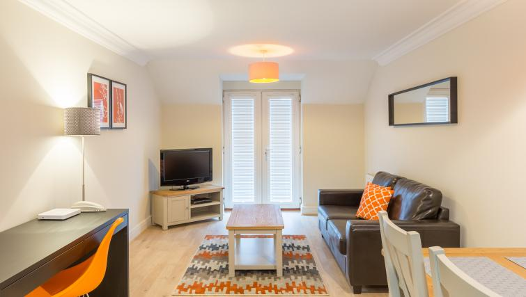 Lounge at the Stanshawe Court Apartments - Citybase Apartments