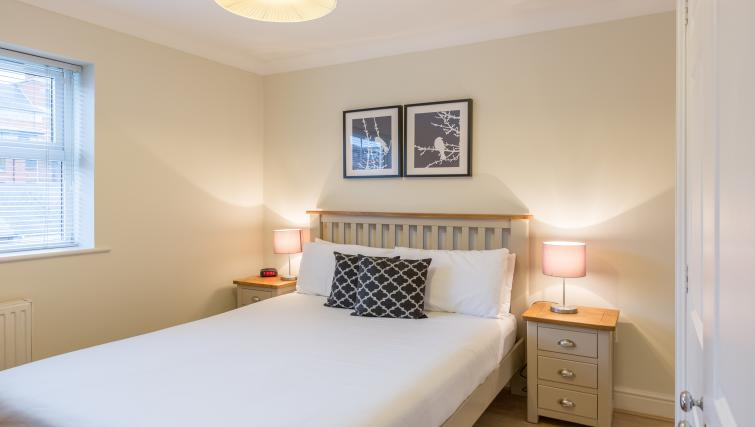Bedroom at the Stanshawe Court Apartments - Citybase Apartments