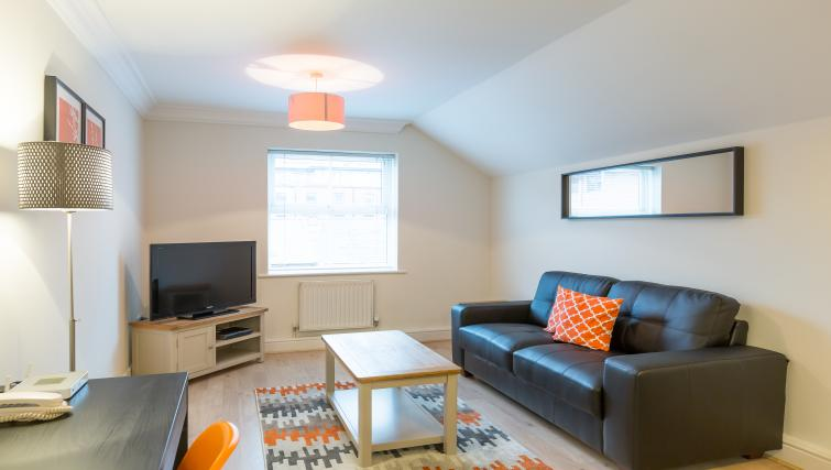 Living area at the Stanshawe Court Apartments - Citybase Apartments