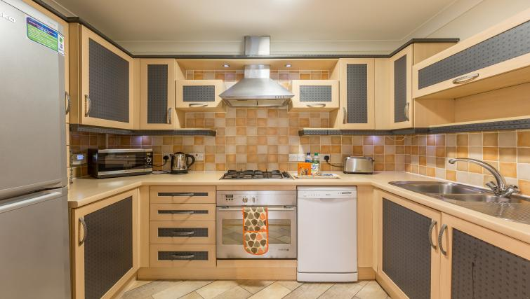 Kitchen at the Stanshawe Court Apartments - Citybase Apartments