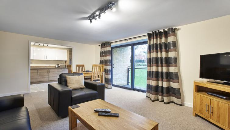 Living room at Jupiter Heights Apartments - Citybase Apartments