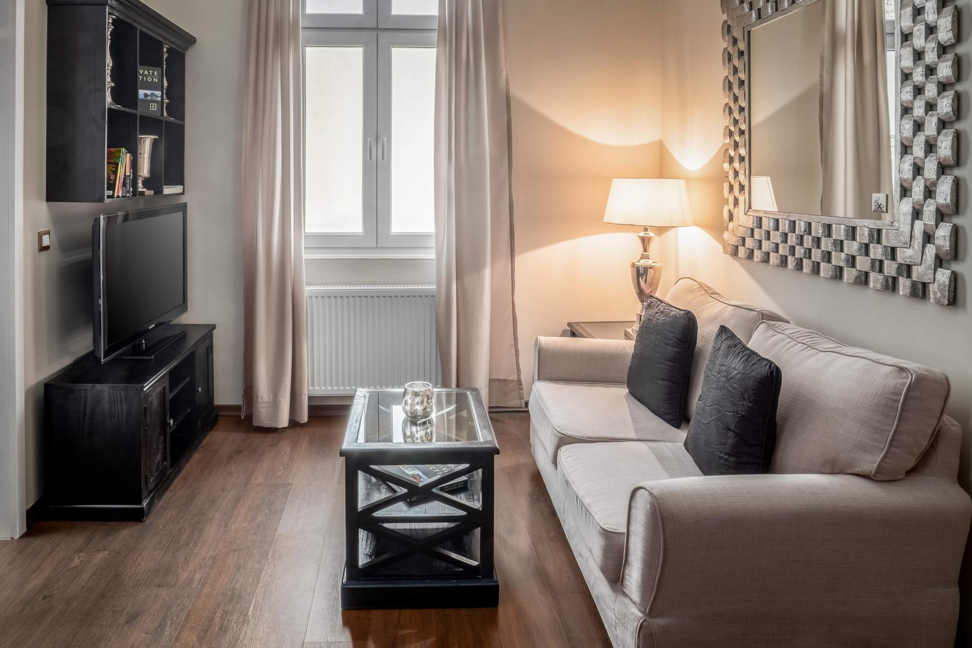 Lounge area at  Palacina Berlin Apartments - Citybase Apartments