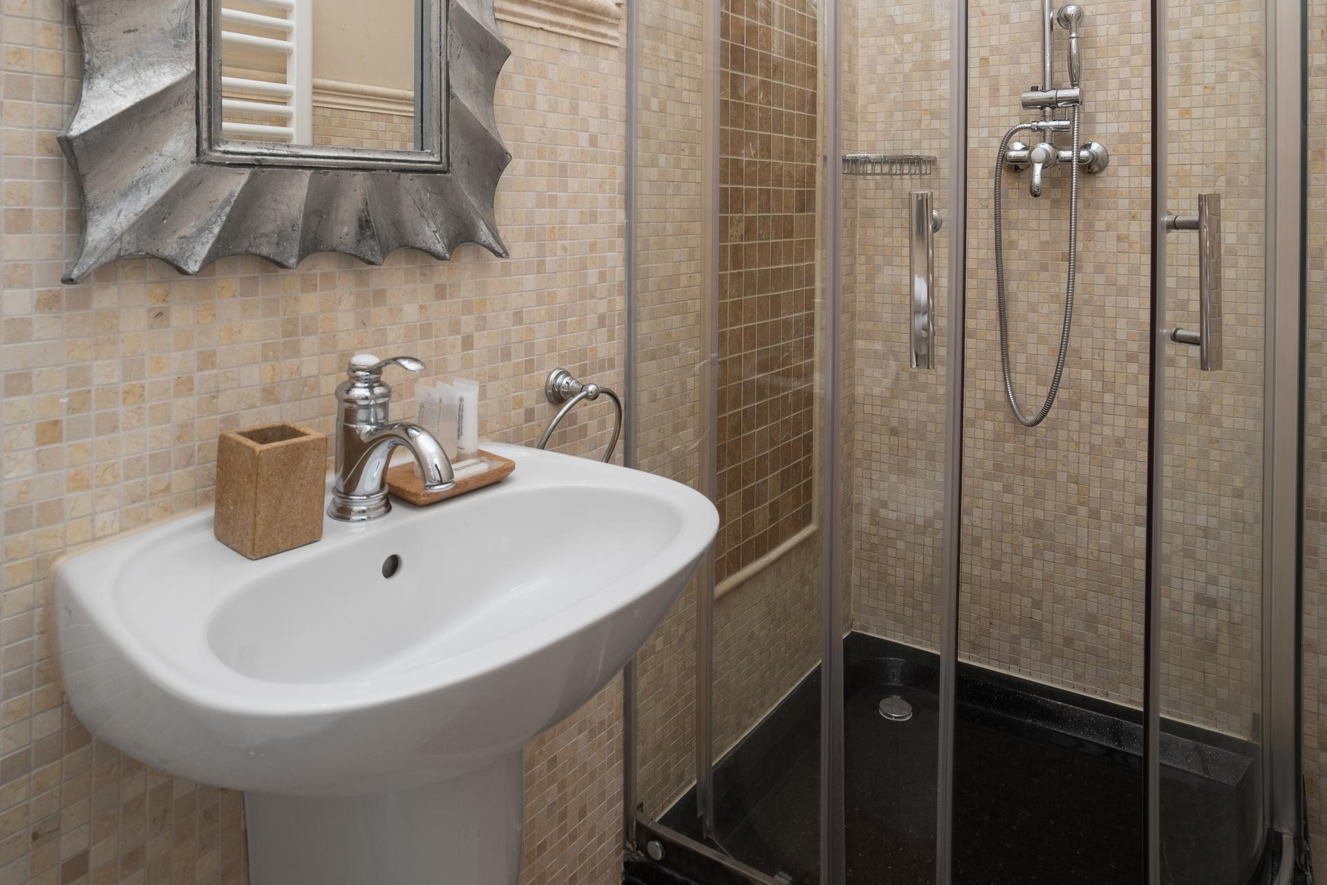 Shower at  Palacina Berlin Apartments - Citybase Apartments