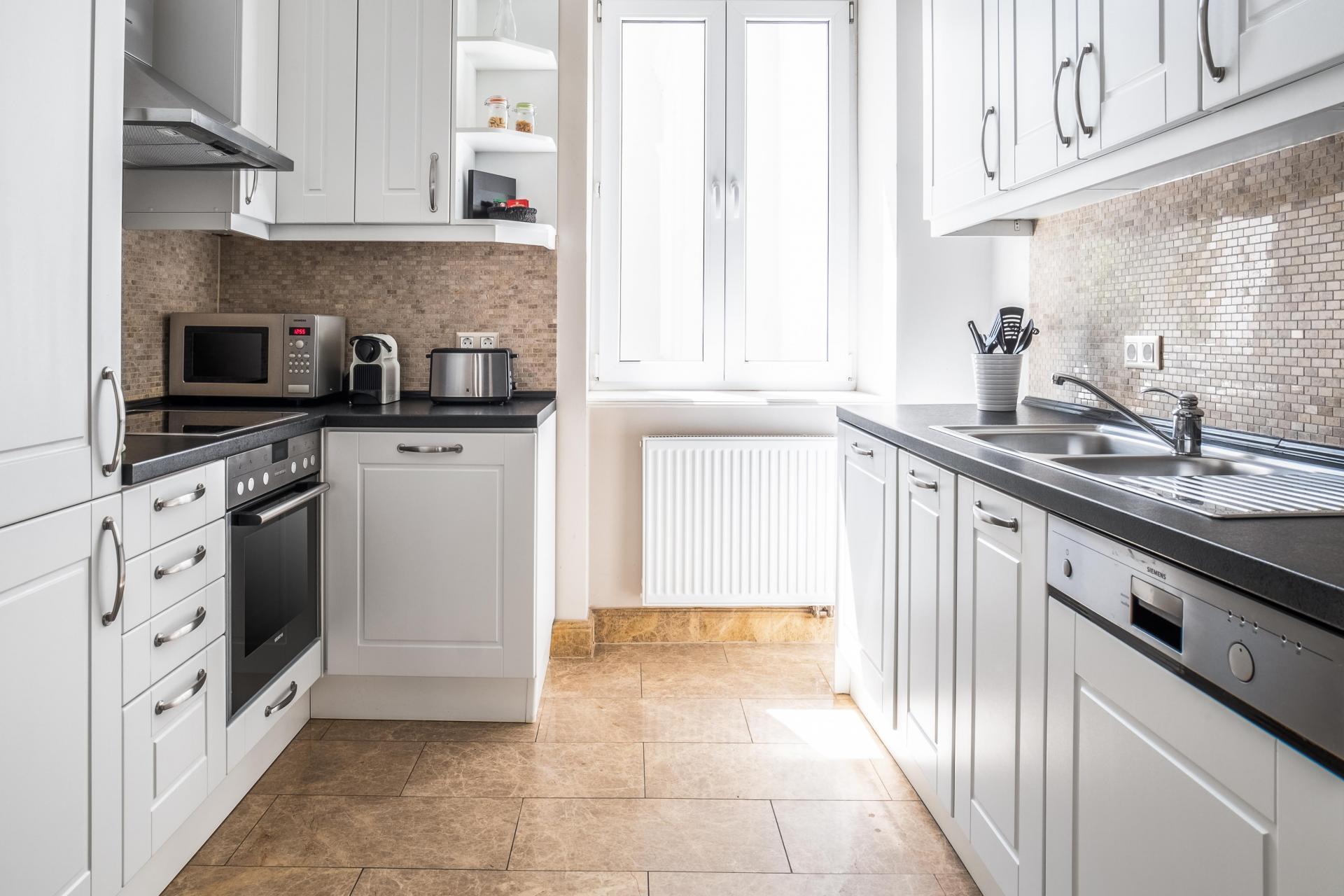 Bright kitchen at  Palacina Berlin Apartments - Citybase Apartments