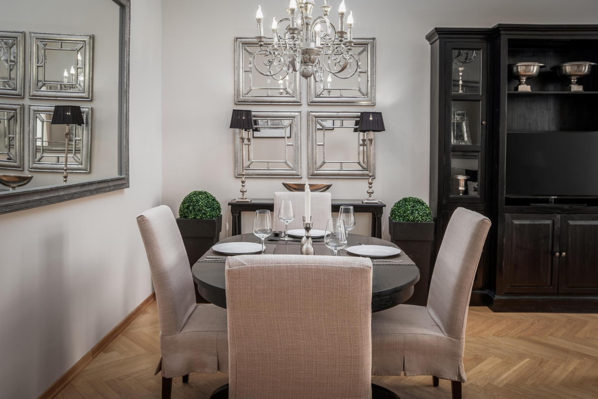 Seating area ta  Palacina Berlin Apartments - Citybase Apartments