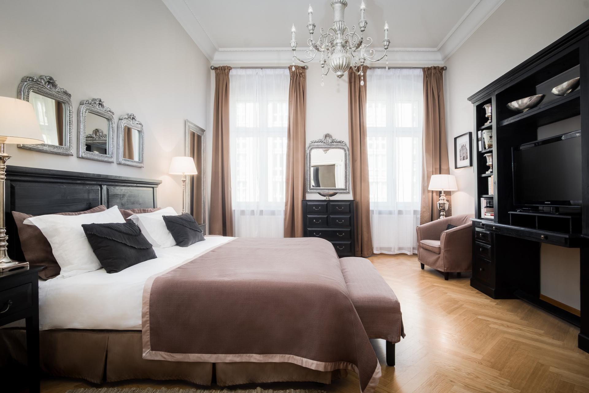 Spacious bedroom at  Palacina Berlin Apartments - Citybase Apartments