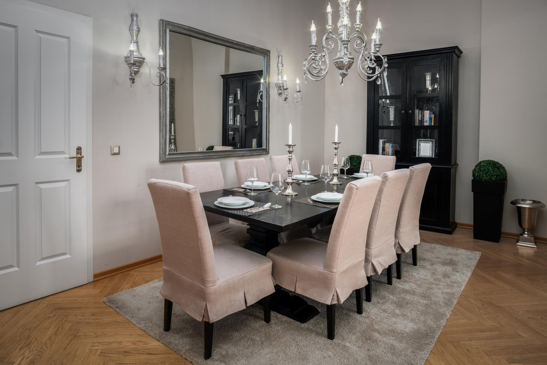 Grand dining room at  Palacina Berlin Apartments - Citybase Apartments
