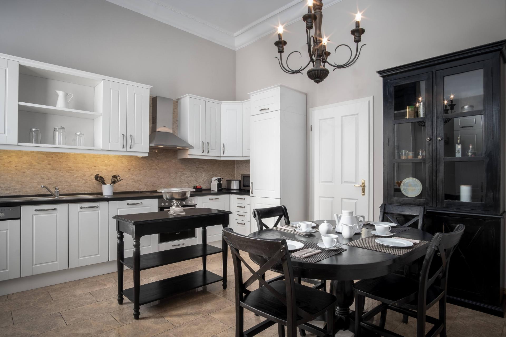 Large kitchen at Palacina Berlin Apartments - Citybase Apartments