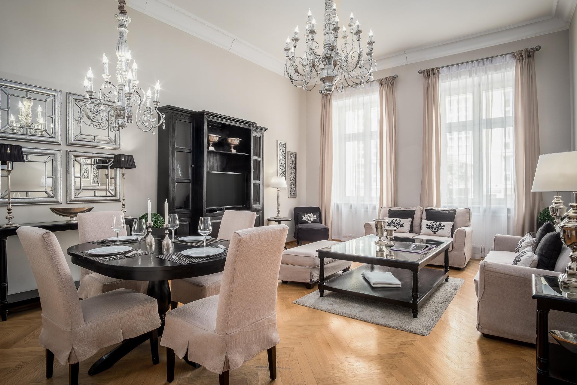 Traditional living area at  Palacina Berlin Apartments - Citybase Apartments