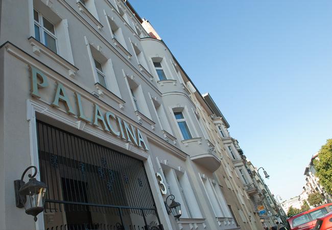 Entrance at Palacina Berlin Apartments - Citybase Apartments