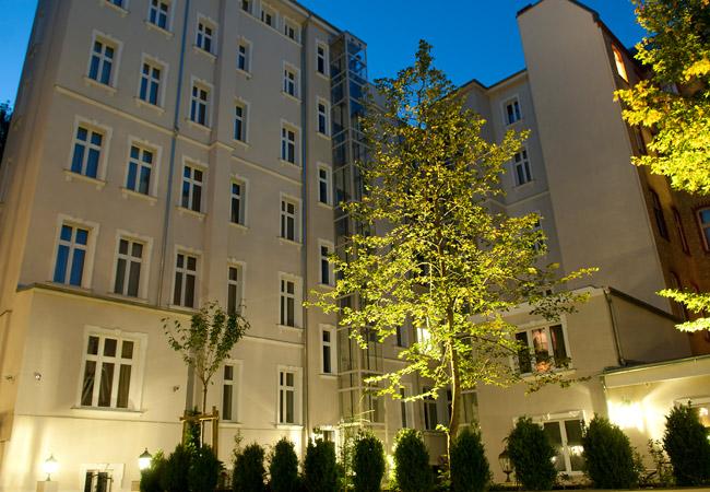 Courtyard at Palacina Berlin Apartments - Citybase Apartments
