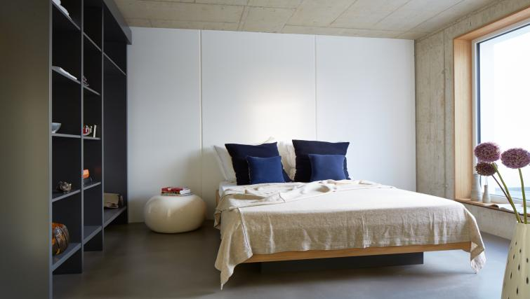 Bed at Mulheim Apartments - Citybase Apartments