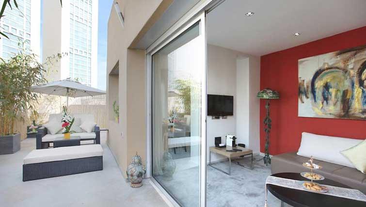 Balcony at The Fourteen Apartments - Citybase Apartments