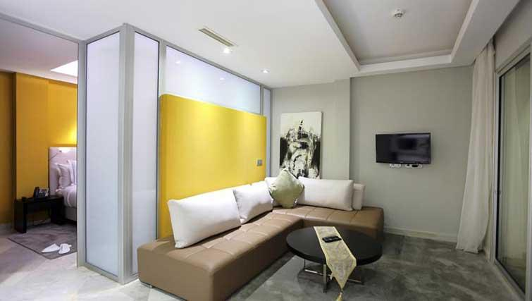 Living room at The Fourteen Apartments - Citybase Apartments