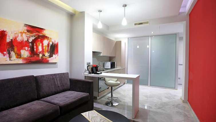 Dining space at The Fourteen Apartments - Citybase Apartments