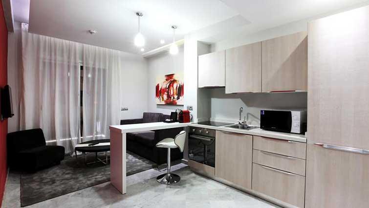 Kitchen at The Fourteen Apartments - Citybase Apartments