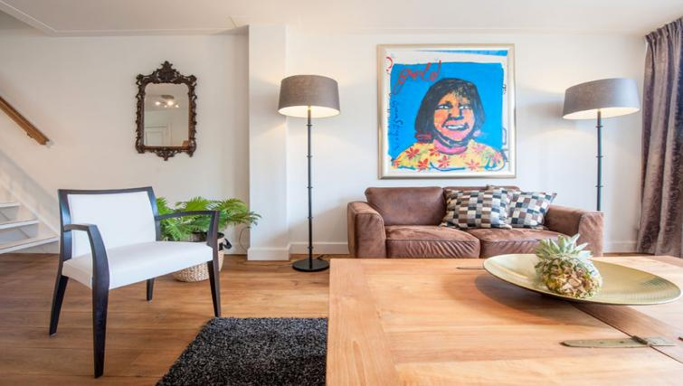 Living area at Jordaan Westerstraat, Amsterdam - Citybase Apartments