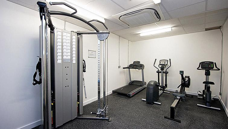 Gym at Staycity Birmingham Newhall Square - Citybase Apartments