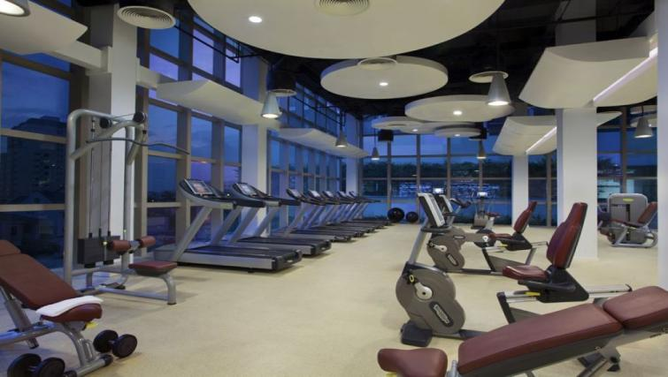 On-site fitness centre at Somerset Vista Apartments - Citybase Apartments